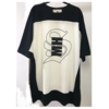 MH BIG Tee Black × White