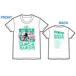 HAI-SAI GLOCAL TOURTシャツ(ホワイト)