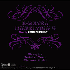 R-RATED COLLECTION 4 Mixed by DJ 8MAN (THUGMINATI)[RRCD-0006]