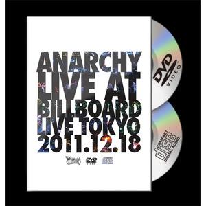 『ANARCHY LIVE AT BILLBOARD LIVE TOKYO (DVD+CD)』[RRTV-0005]