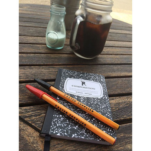 RATED SUPPLIER - COMPOSITION NOTEBOOK & PEN SET