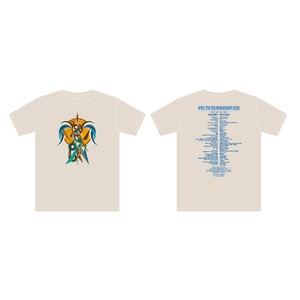 中津川 THE SOLAR BUDOKAN 2018 WEB限定Tシャツ