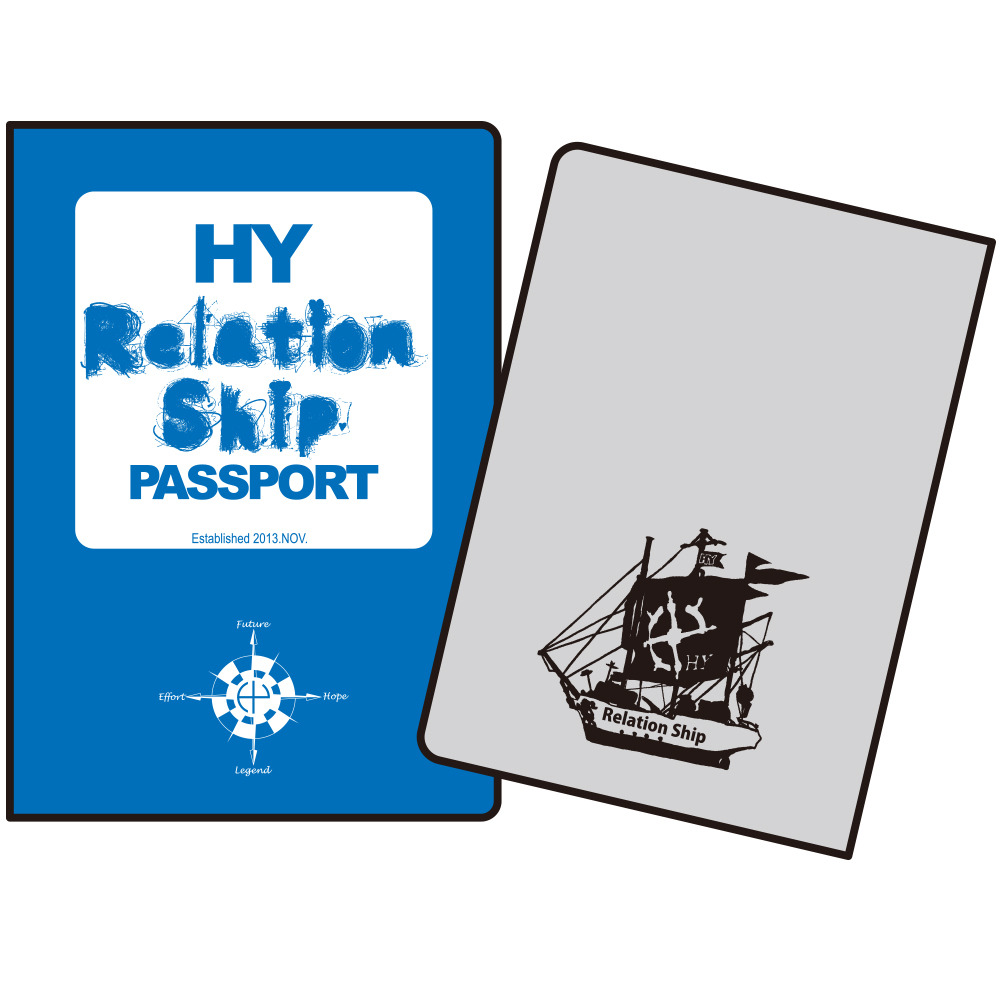 Relationship PASSPORT ケース