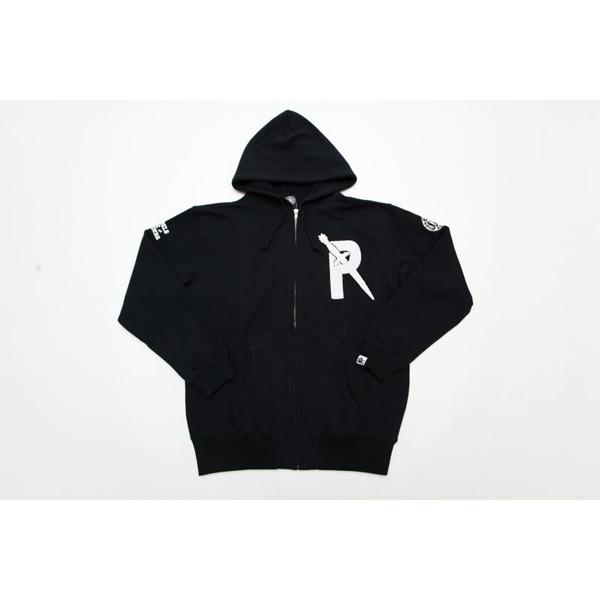 REBELS & RAIDERS HOODIE BLACK[RRRW-0008]