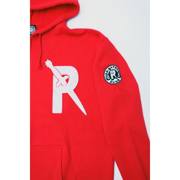 REBELS & RAIDERS HOODIE RED[RRRW-0008]