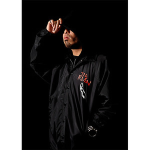 RATED OFFICIAL 2010 NYLON JACKET BLACK[RRRW-0003]