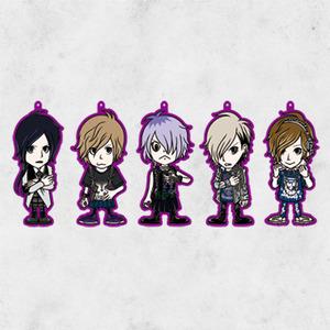 キャラクターラバーストラップ5種(ランダム)