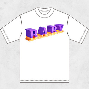 野音限定 B.A.B.Y.Tシャツ
