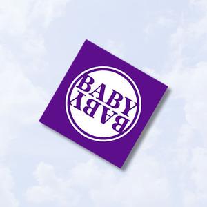 B.A.B.Y.リストバンド(パープル)