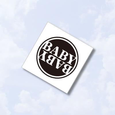 B.A.B.Y.リストバンド(ホワイト)