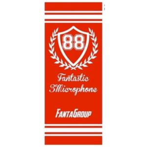 FANTASTIC3MICROPHONE タオルレッド