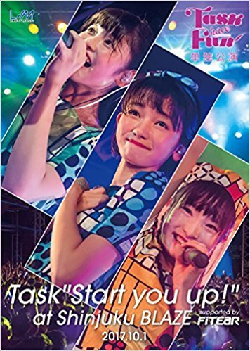 "2nd DVD『Task have Fun単独公演 ~Task""Start you up!""~ at shinjuku BLAZE supported by FITEAR 2017.10.1』"