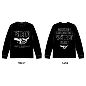 西日本豪雨復興支援 10-FEET × BRAHMAN WネームロングスリーブTシャツ(黒)