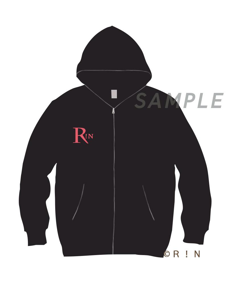 R!N Hoodie Black-Red