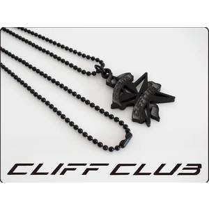 CLIFF CLUB ロゴネックレス