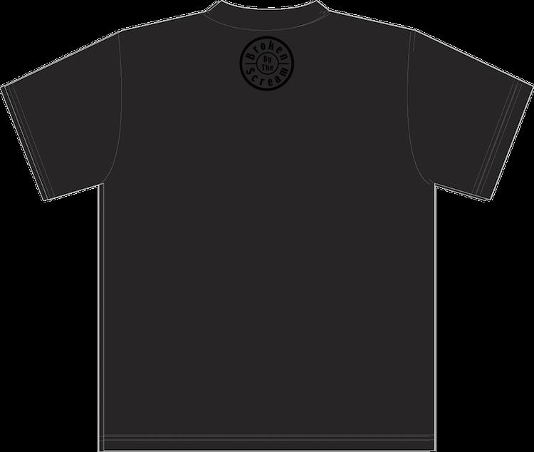 「Black×Black」Tシャツ(通販分にて販売終了)