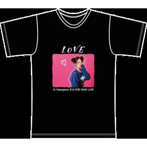 Ai Hasegawa 3rd ONE MAN LIVE 開催記念 / ファンクラブ会員限定Tシャツ