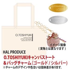 O.TOSHIYUKIキャンバストート&バッグチャームGOLD