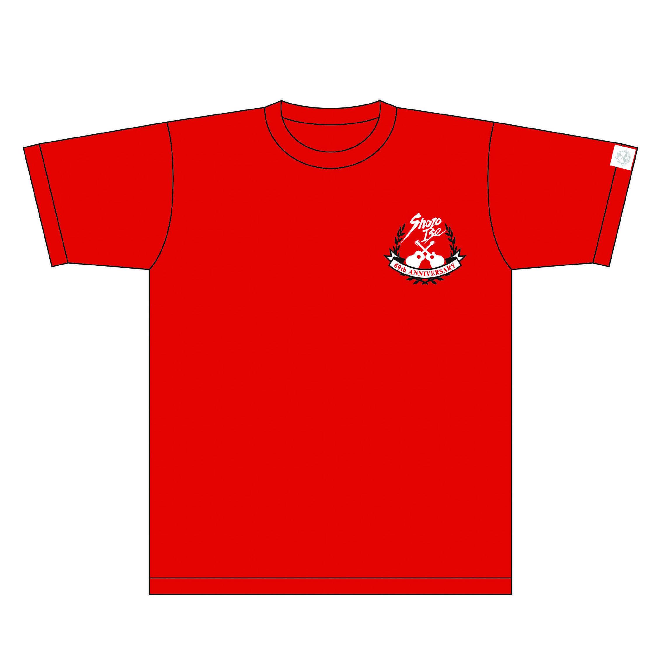 伊勢正三 2011Tシャツ【RED】