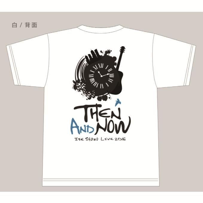 伊勢正三 2016Tシャツ【WHITE】