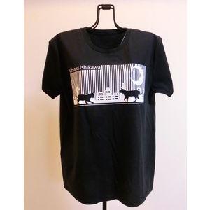 夜のお散歩 Tシャツ 「S,M,L,XL」