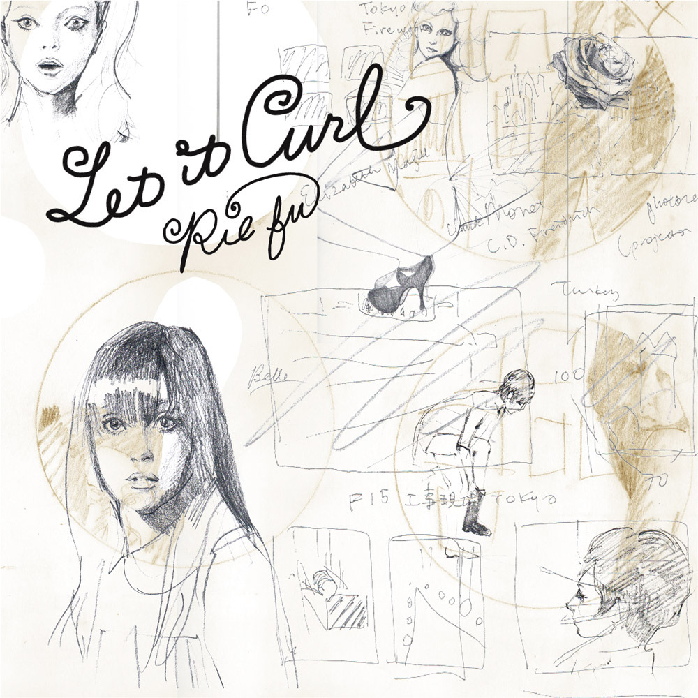 "CD Single ""Let it Curl"""