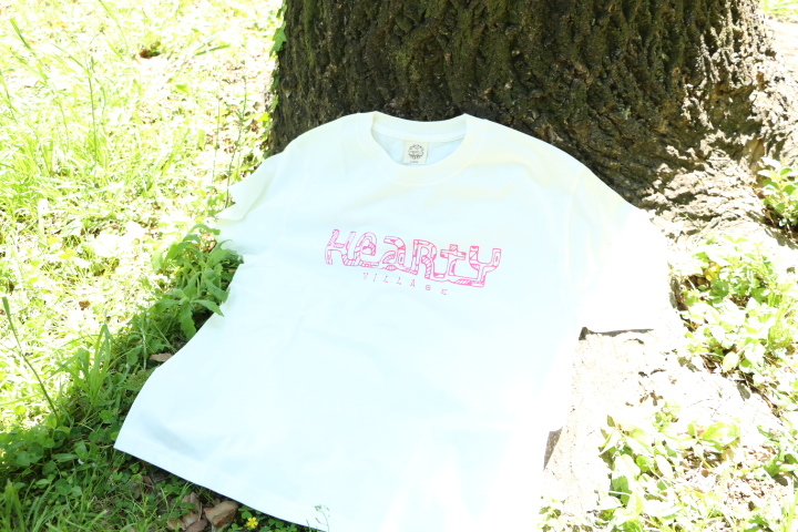 【HeartY】HeartY Village Tシャツ pink