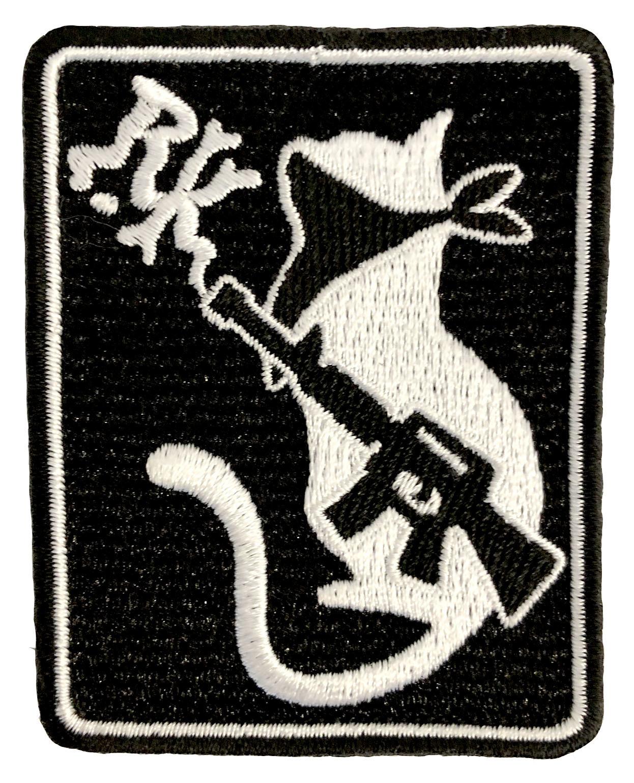 サバゲー刺繍ワッペン