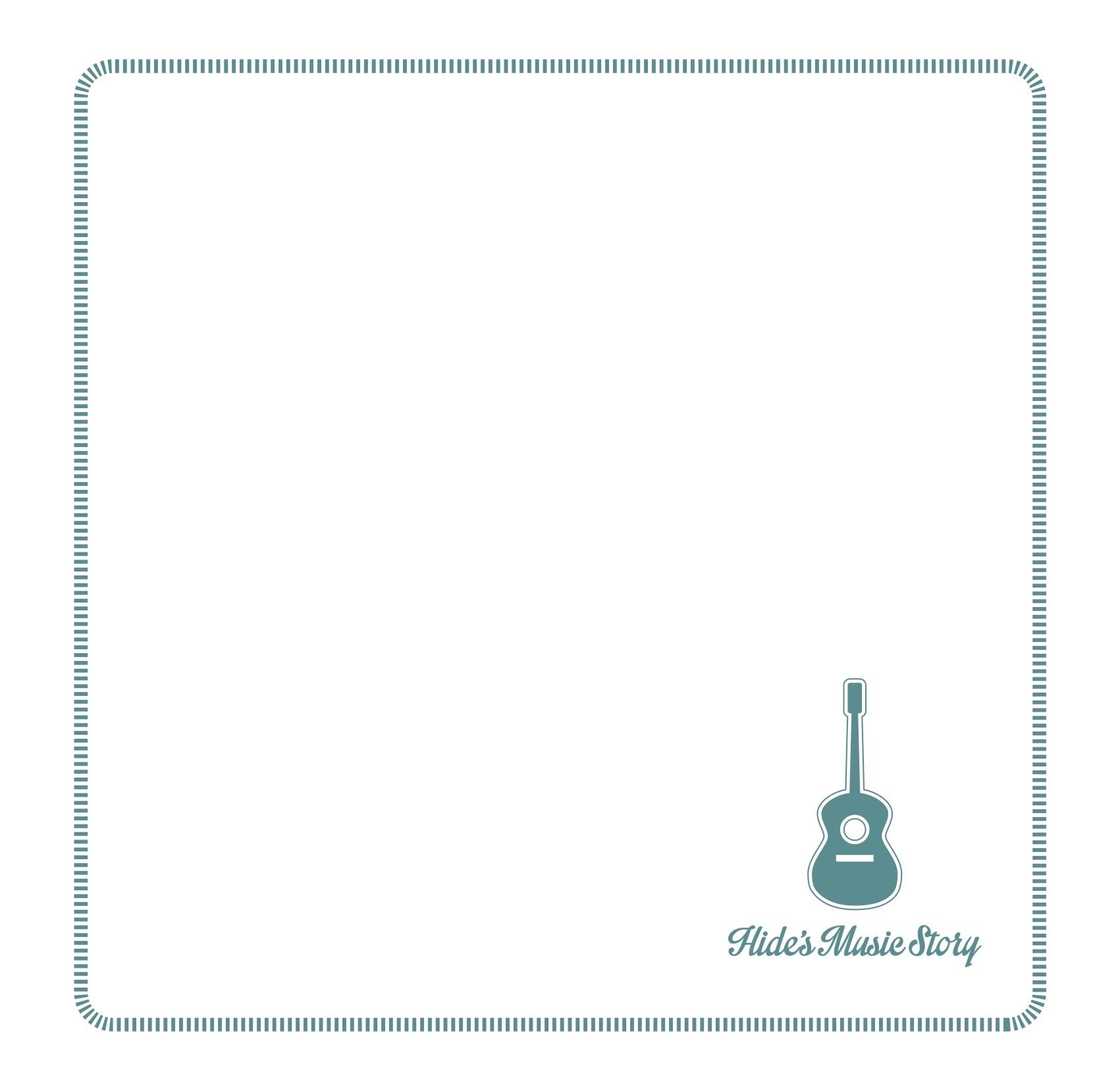 Hide's Music Story ハンドタオル