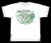 ケーブル長いTシャツ(ホワイト、ブラック)