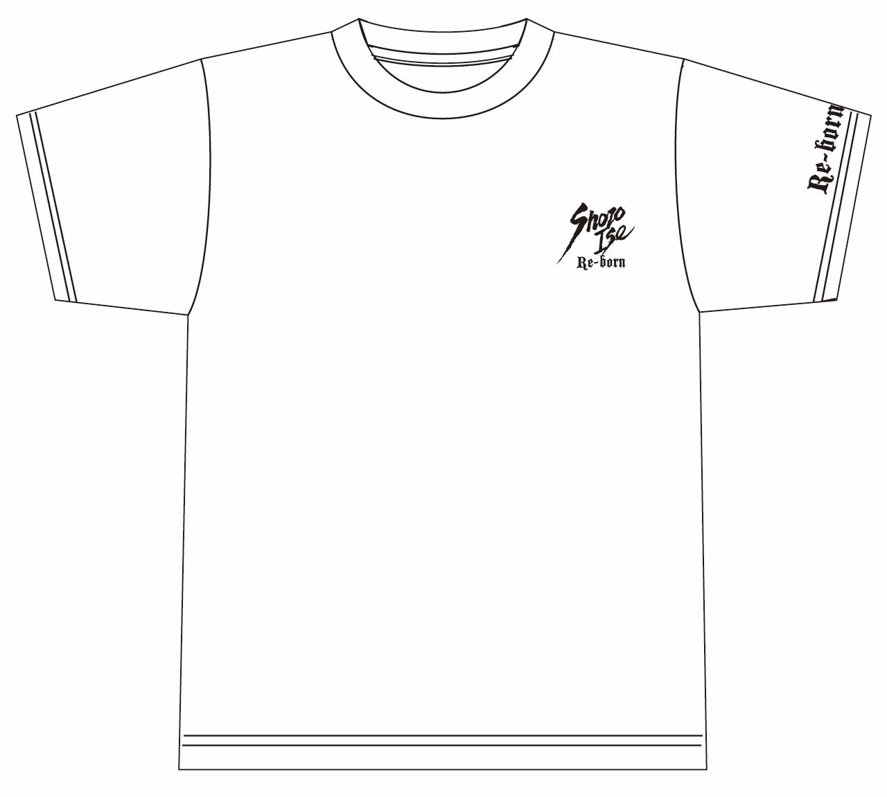 伊勢正三 2019 Re-bornTシャツ【WHITE】