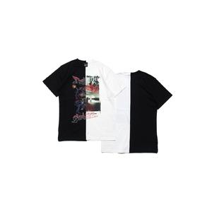 コンビネーションTシャツ C