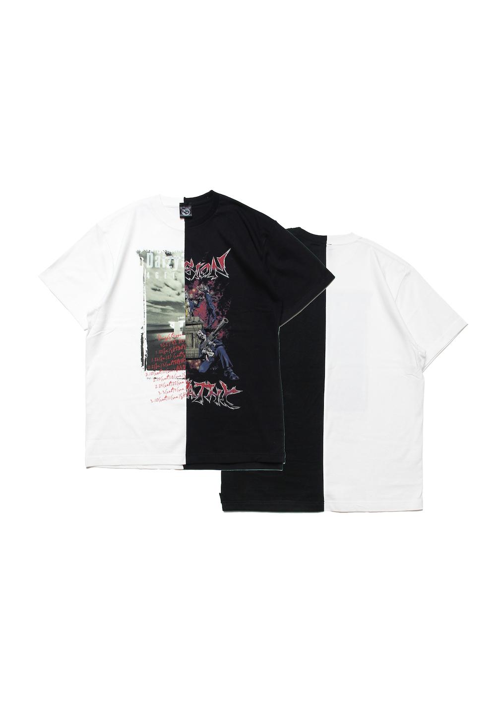 コンビネーションTシャツ D