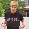 5IGNAL  ロゴTシャツ ブラック