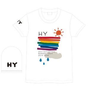 RAINBOW LINE Tシャツ(WHITE)