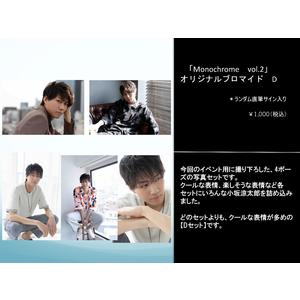 「Monochrome Vol.2」オリジナルブロマイド D