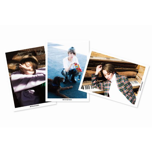 美弥るりか ポストカード3枚セット【B】
