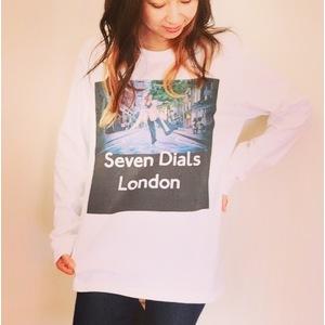 ロングTシャツ(Seven Dials)
