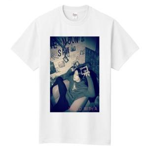 【ゆっくりしてけれ会員限定】オリジナルフォトTシャツ White