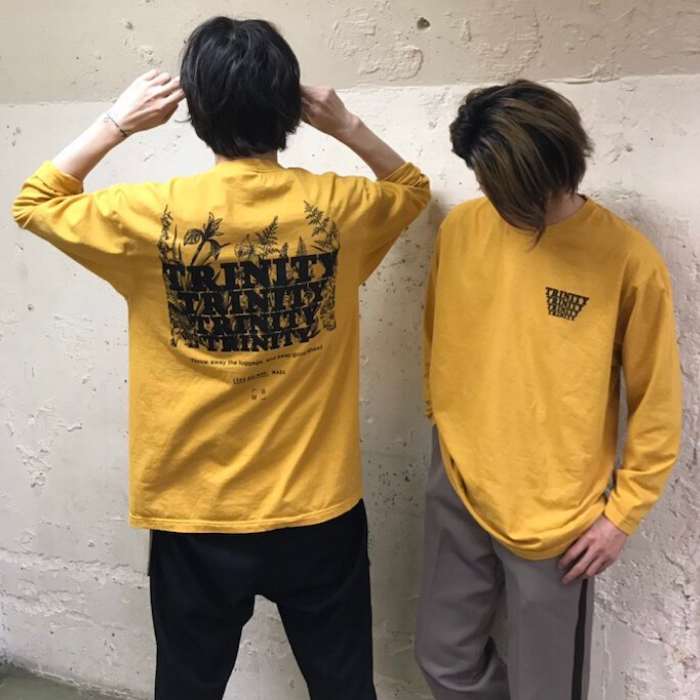Mustard Color Long T-Shirt