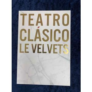 LE VELVETS コンサート 2018「TEATRO CLASICO」ツアーパンフレット