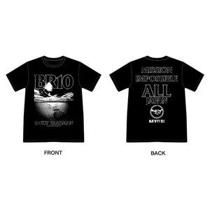 日本復興支援 10-FEET × BRAHMAN WネームTシャツ(黒)