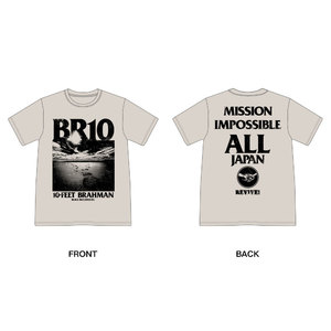 日本復興支援 10-FEET × BRAHMAN WネームTシャツ(オートミール)