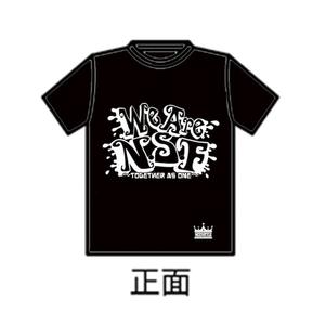 「N.S.F」Tシャツ