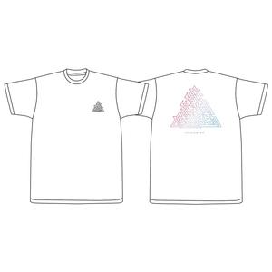 おしゃれデルタTシャツ(ホワイト、ブラック)