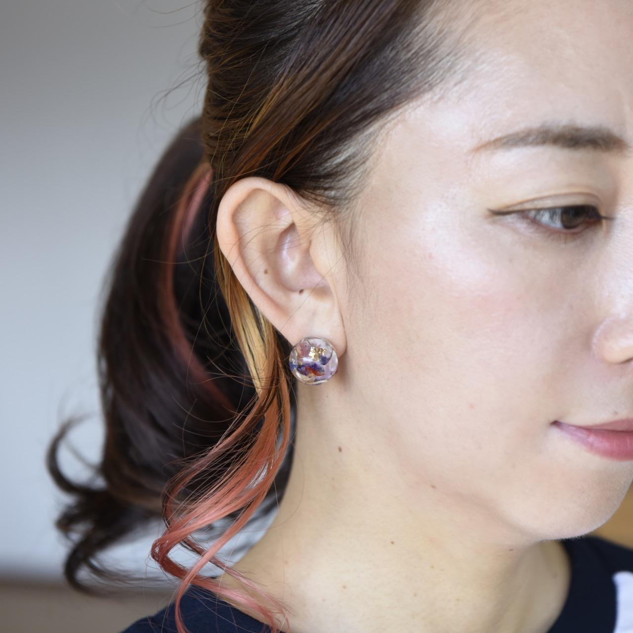 Rie fu x Motomio コラボアクセサリー【ピアス・イヤリング】