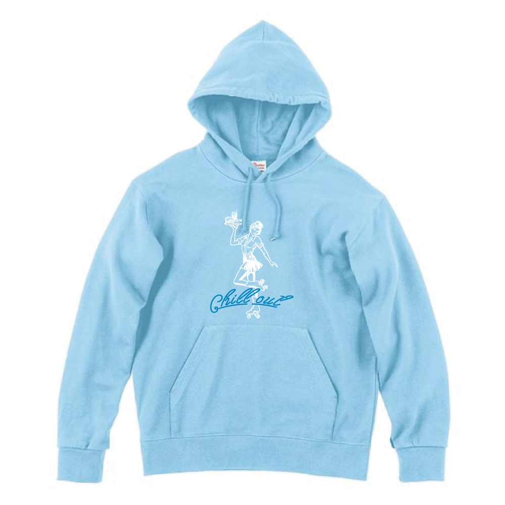 """""""Chilli"""" Out パーカー(LIGHT BLUE)"""