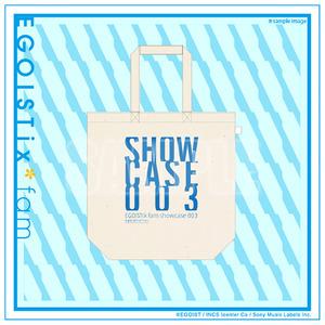 トートバッグ「showcase*003」