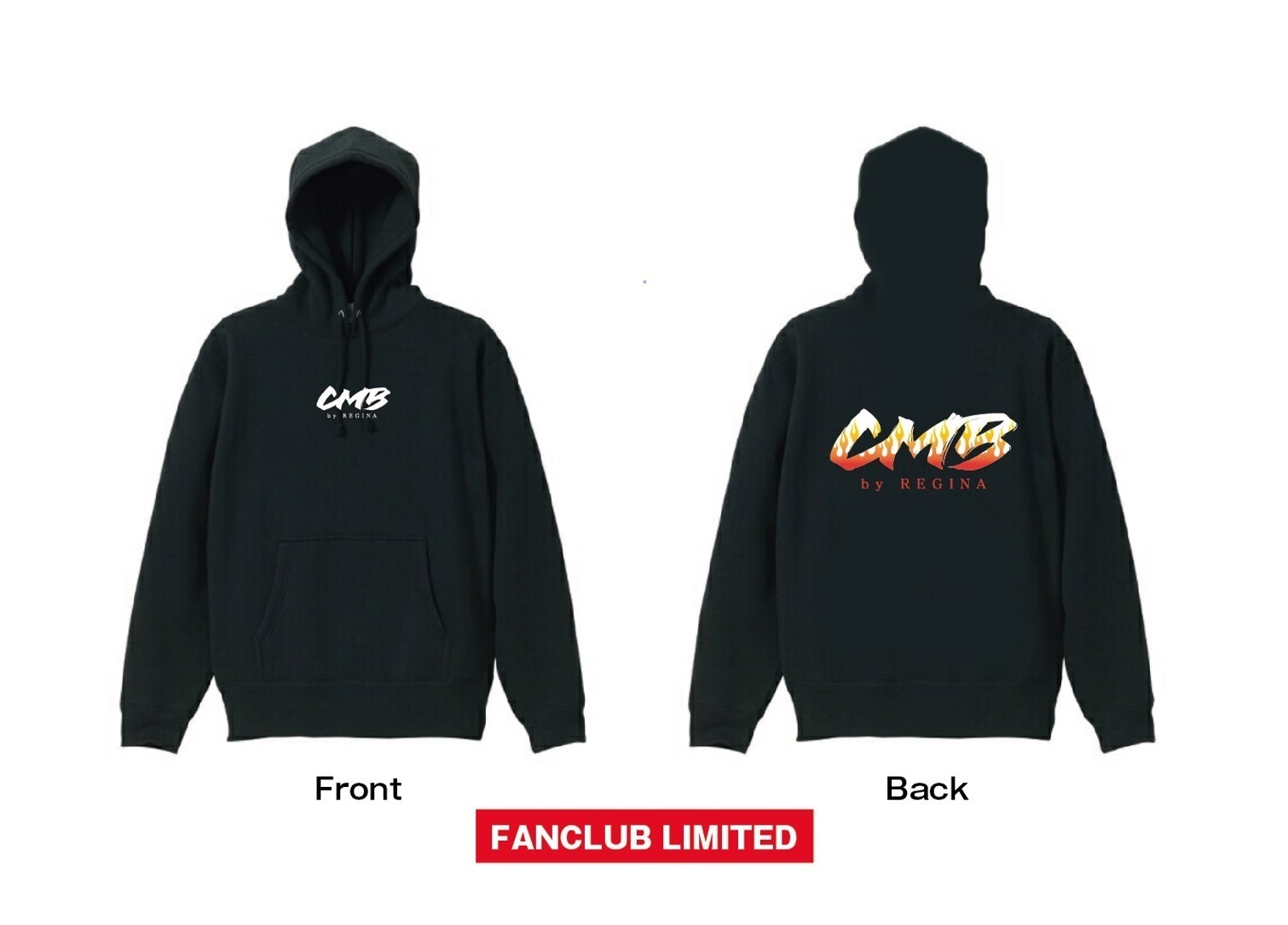 CMB by REGINA FAMILIA LIMITED HOODY/ FIRE
