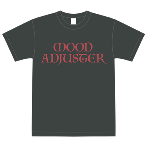 MOOD ADJUSTER Tシャツ(ダークグレー)